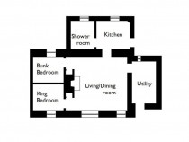 Meadow Cottage floor plan