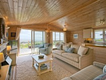 The Buoys lodge living room